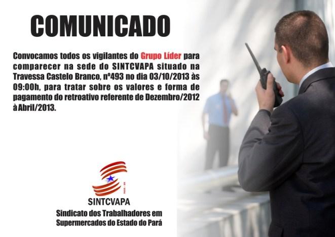 COMUNICADO vigitantes