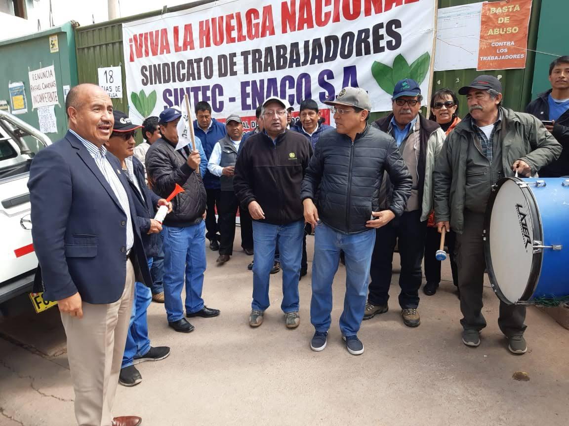24 días de huelga de trabajadores cocaleros