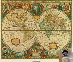 A classic map design rug by dot_doctor on Pinterest