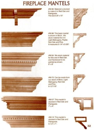 Ideas for Mantle Shelves