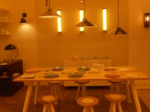 Wonderful stand of the original Lighting BTC Company at 100% Design