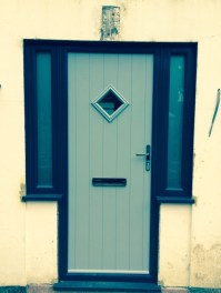 Despite my reservations, I'm pleased with the front door.