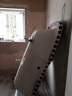 The family bathroom installation