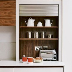 Example of Tamber sliding door Breakfast Station
