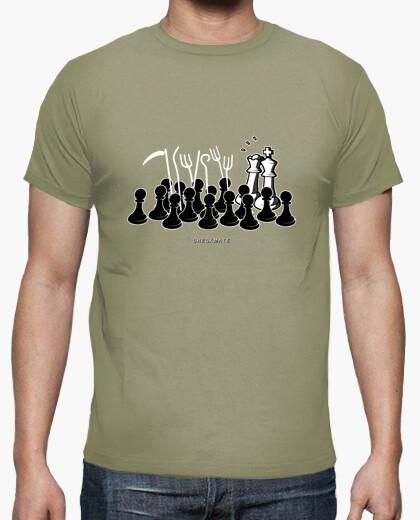Camiseta Jaque Mate color caqui