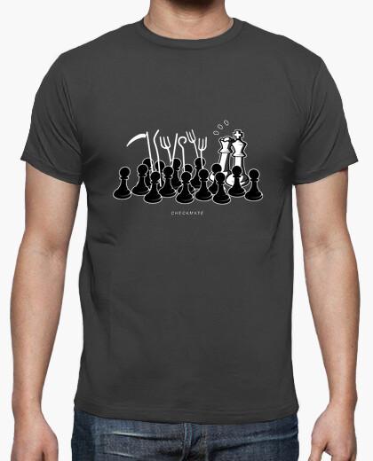 Camiseta Jaque Mate color gris ratón