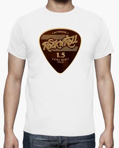 Camiseta Rock & Roll Pick color blanco