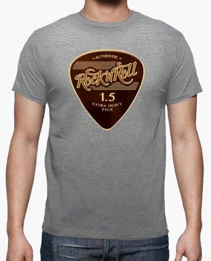 Camiseta Rock & Roll Pick color color gris