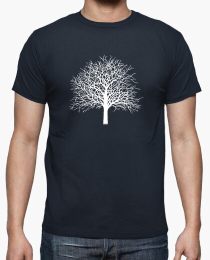 Camiseta Tree color azul marino