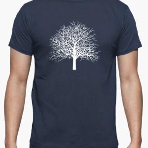 Camiseta Tree color azul denim