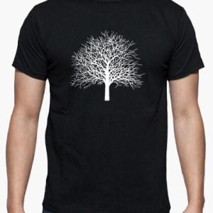 Camiseta Tree color negro