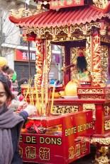 Nouvel An chinois (Paris, 1er février 2015) - Autel itinérant