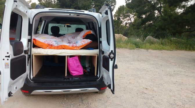 Cómo camperizar una Dacia Docker Stepway?