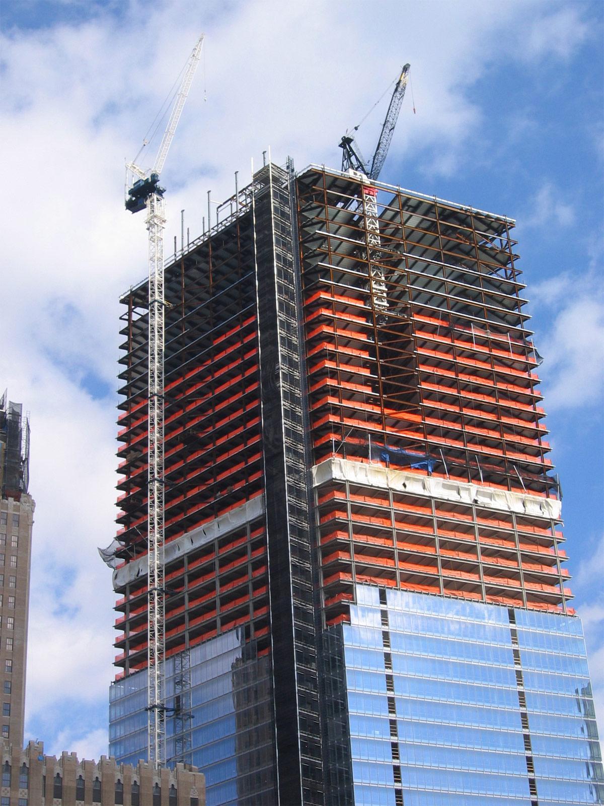 7 World Trade Center Steel Institute Of New York