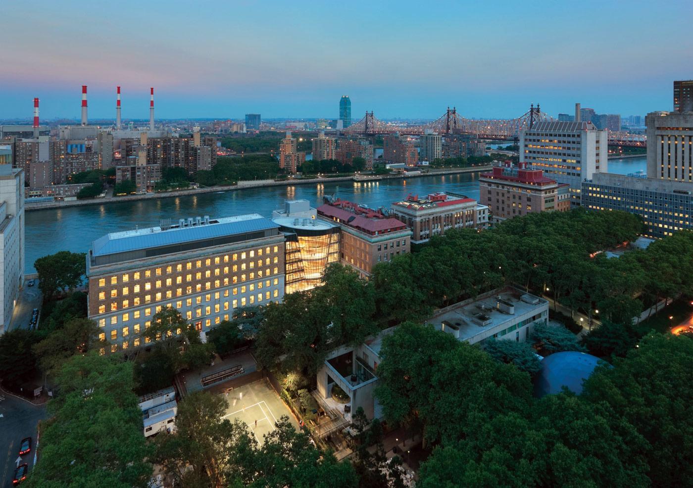 Rockefeller University Collaborative Research Center  Steel Institute of New York