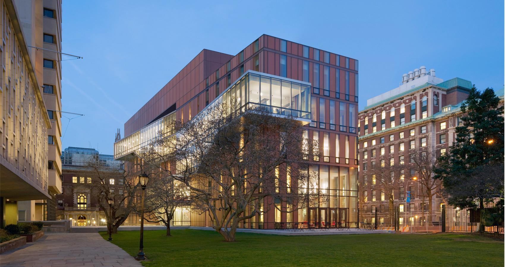 Barnard College Diana Center  Steel Institute of New York