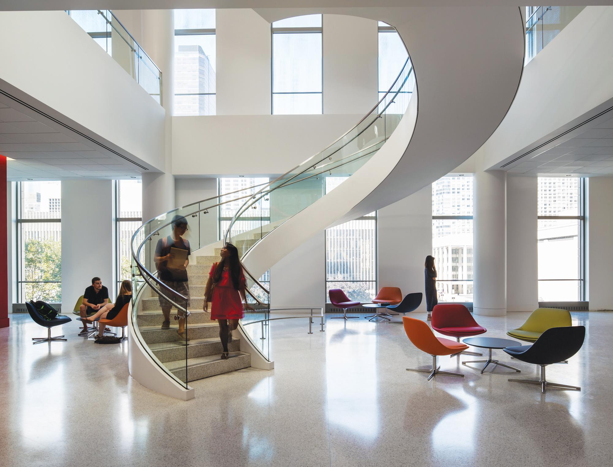 Fordham University Law School and Residence Hall  Steel