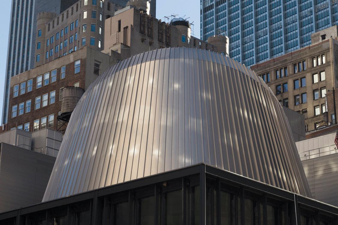 Fulton Center SkyReflector Net  Steel Institute of New York