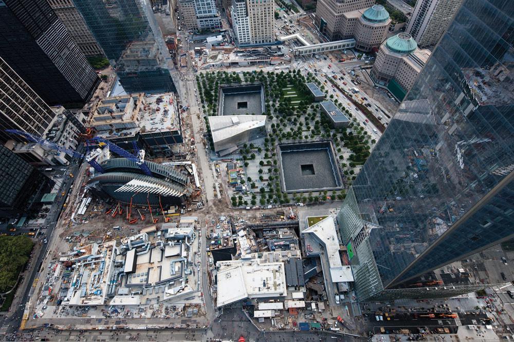 World Trade Center Transportation Hub  Steel Institute of New York