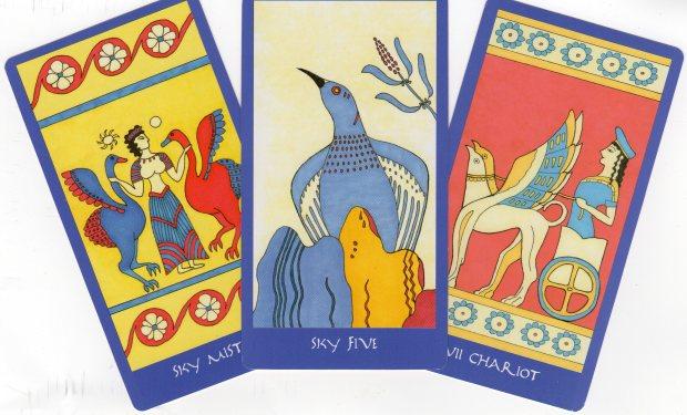 Minoan Tarot - Ellen Lorenzi-Prince - http://www.darkgoddesstarot.com