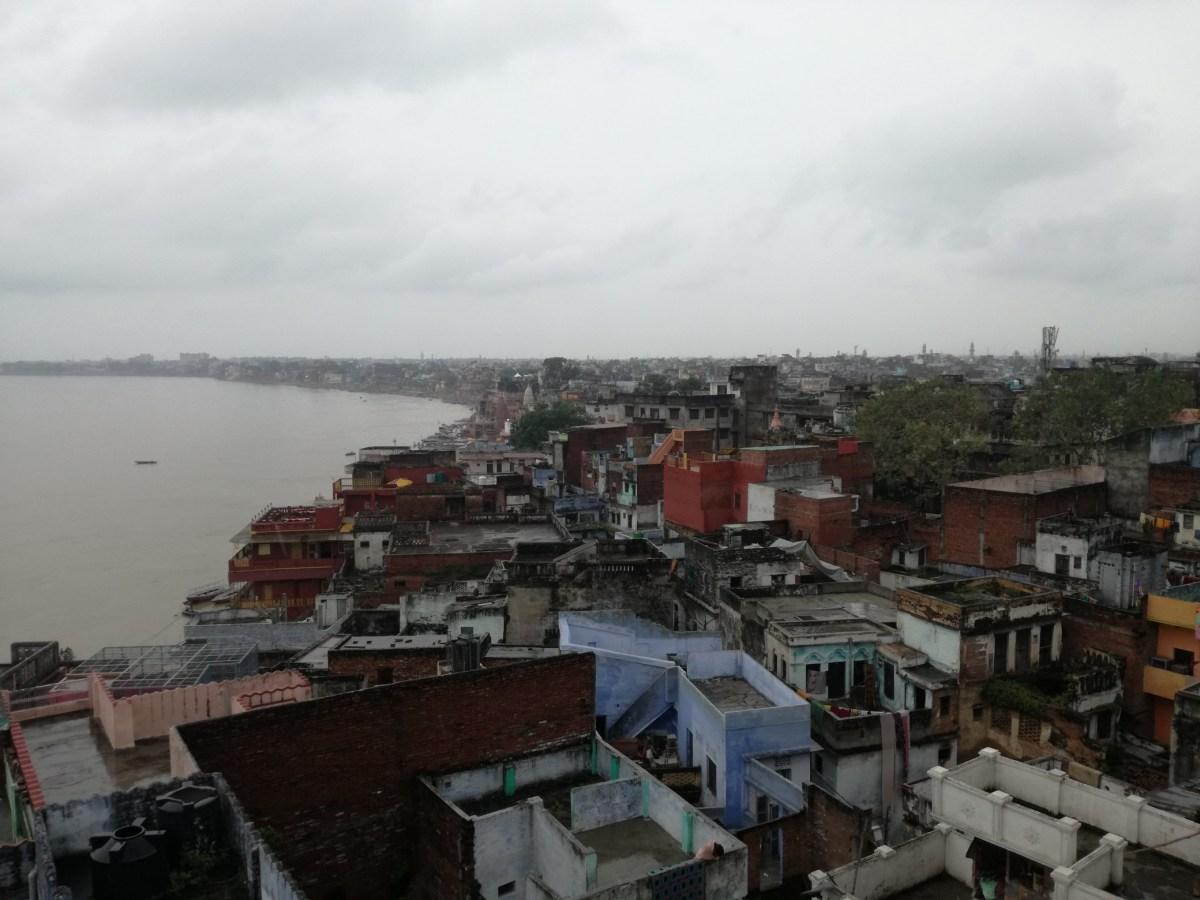 Święta rzeka Ganges - Waranasi