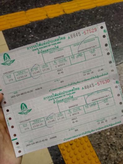 Bilety do Aranyaprathet - Poipet - granica Kambodży