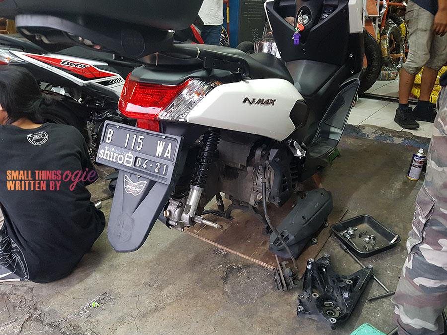 Ganti Ban NMax Pake MAXXIS F1ST
