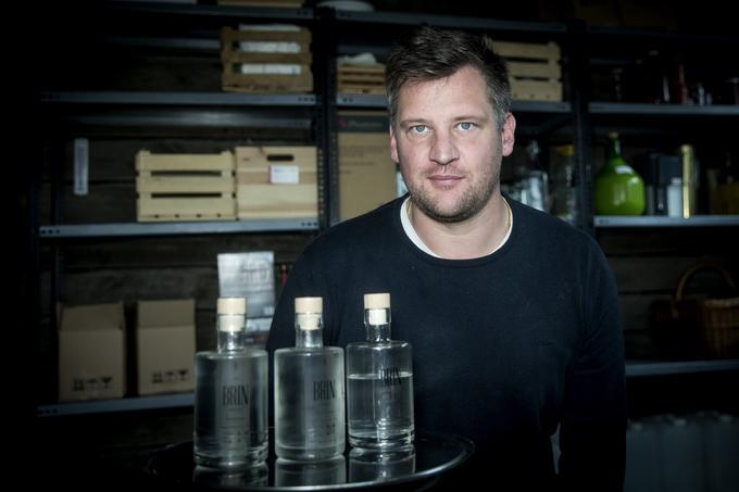 GinBrin, slovenski gin, Erik Sarkič in Petra Grilj