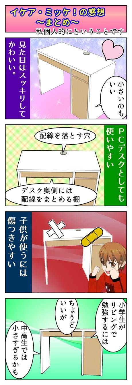 ミッケ!の使用感を描いた漫画