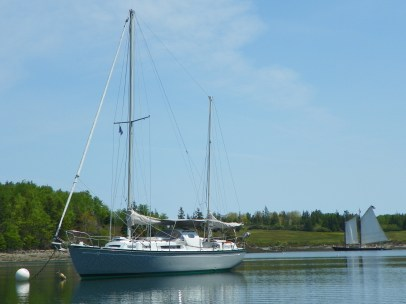 The boat - s/v Sionna