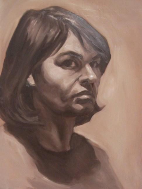 Self Portrait Study 2012