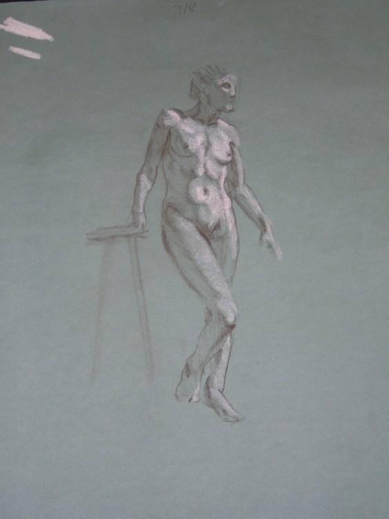 Standing Figure 2010