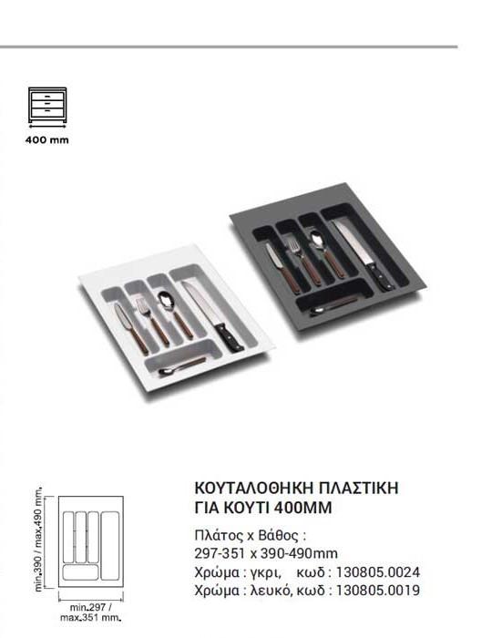ΚΟΥΤΑΛΟΘΗΚΗ ΠΛΑΣΤΙΚΗ EUROFIT 297-351X390-490MM