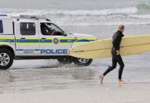 Crime-fighting operations continue and police 'not always on beaches'