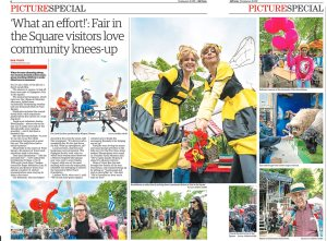 Ham and High picture special for Fair in the Square 2019. Photograph by Siorna Ashby, a portrait photographer in north London, Finsbury Park for the Ham and High newspaper