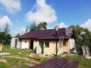 nowy dach w robocie