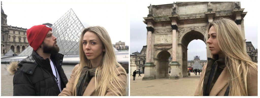 SiostryADiHD w Paryżu - Louvre i Łuk Triumfalny