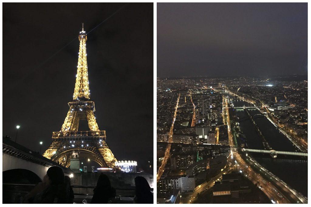 SiostryADiHD w Paryżu - wieża eiffla