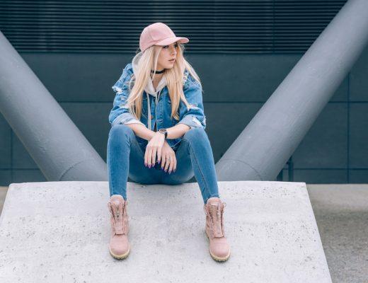 Jeansowa stylizacja - Siostry ADiHD