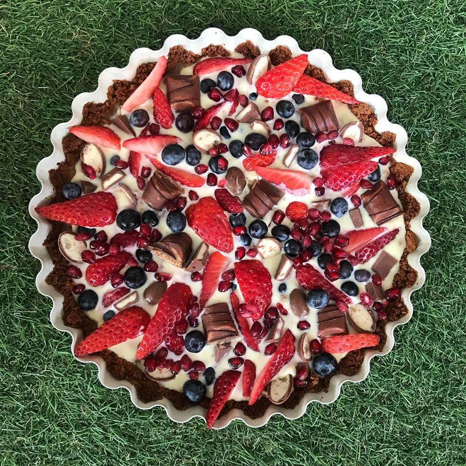 przepis na tartę z owocami