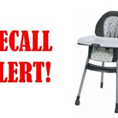 High Chair Recall Bertoia Pads Graco Chairs Sold At Walmart Recalled For Falling Hazard Kmeg