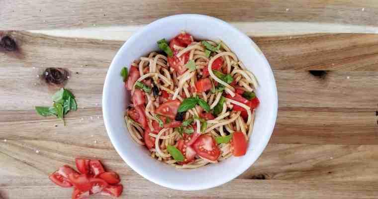 Fresh Summer Tomato Pasta