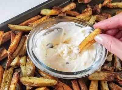 Easy Garlic Aioli   Sip + Spice