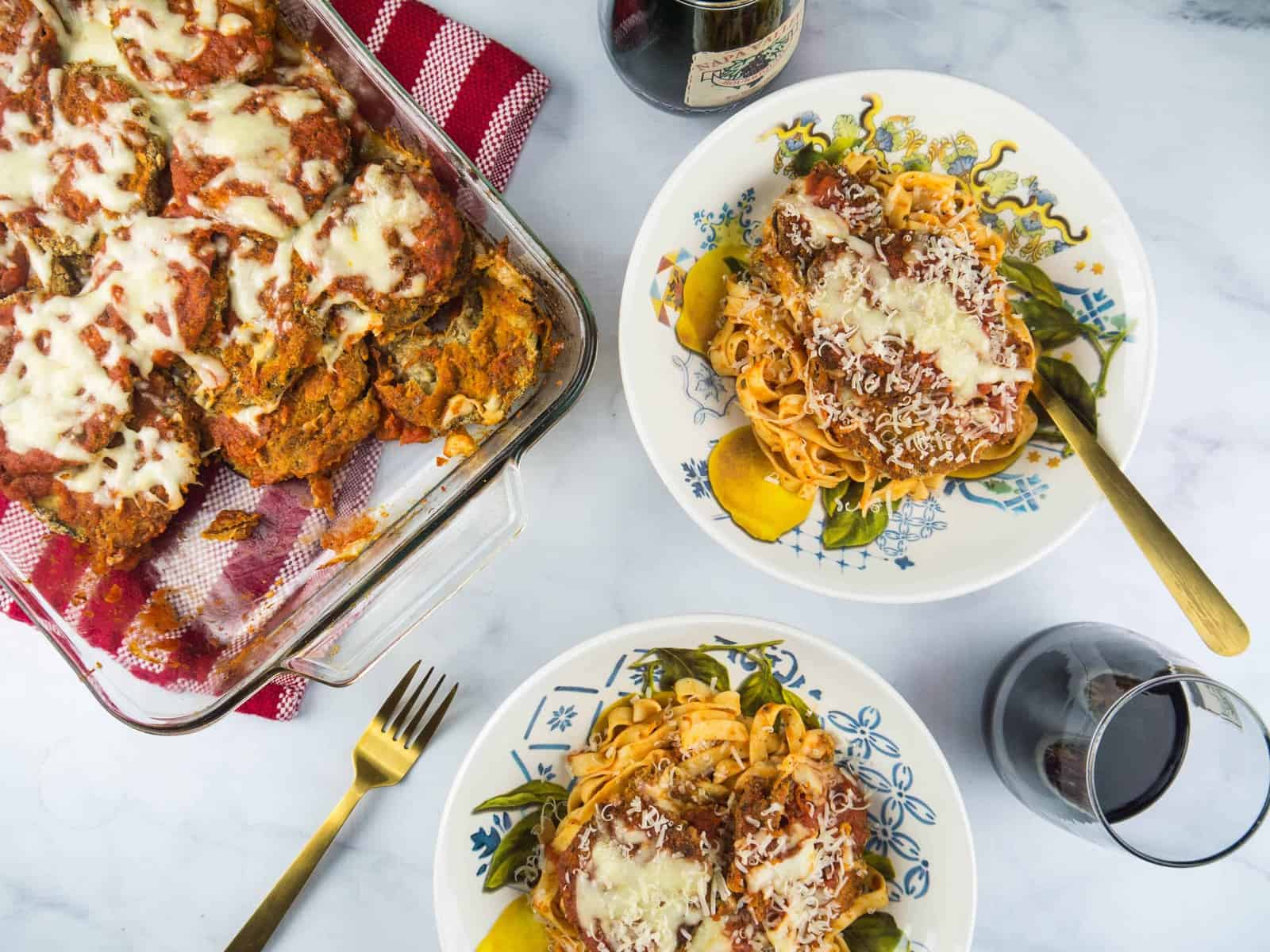 The Best Baked Eggplant Parmesan