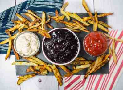 4th of July Appetizer Red White + Blue Dip | Sip + Spice