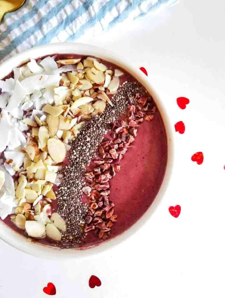 Chocolate Cherry Smoothie Bowl   Sip + Spice