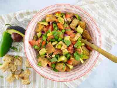 Mexican Panzanella Salad   Sip and Spice