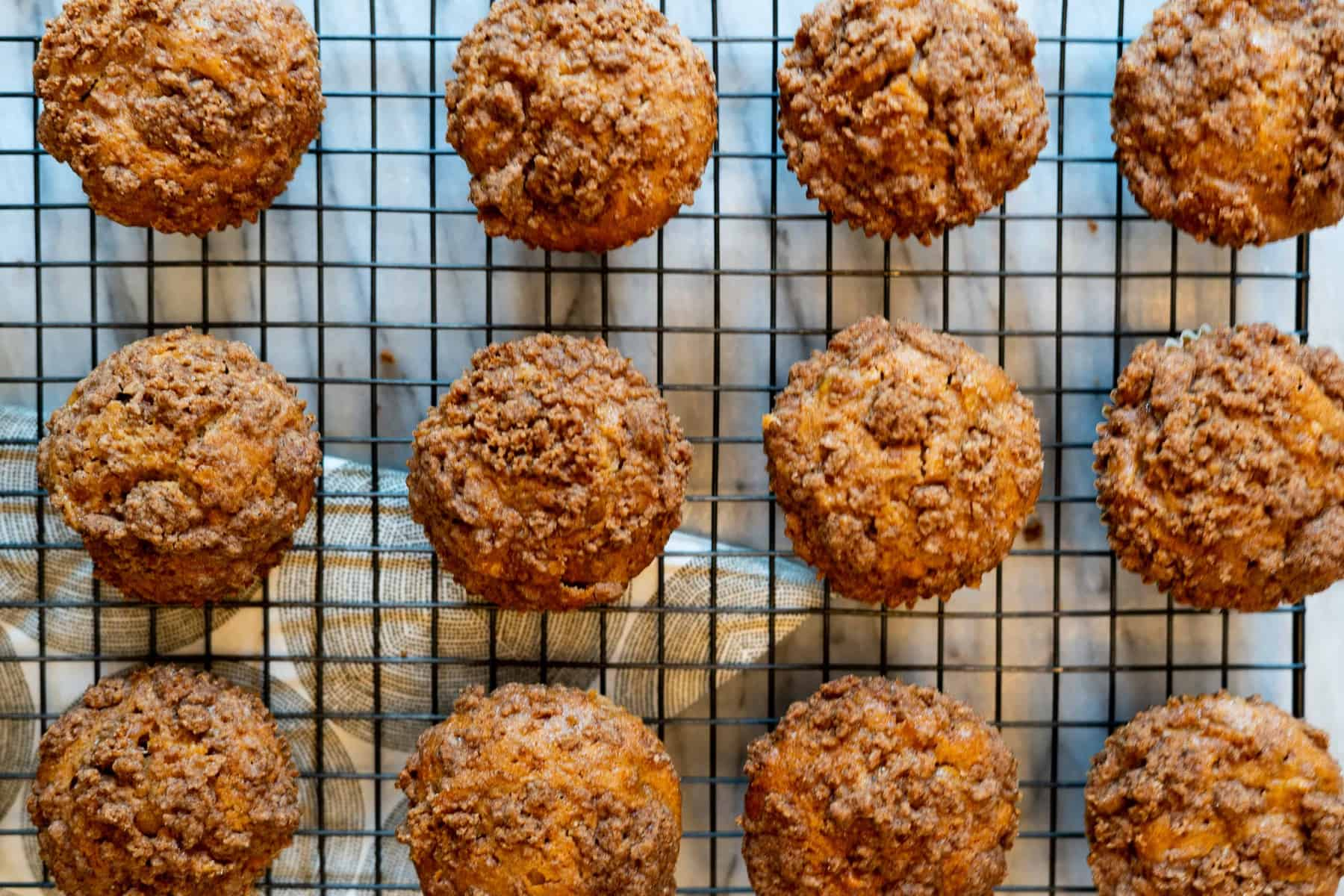 Spiced Apple Muffins with Chai Crumble