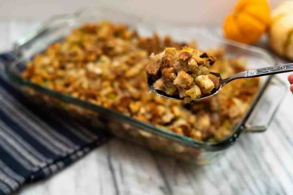 Classic Stuffing | Sip and Spice