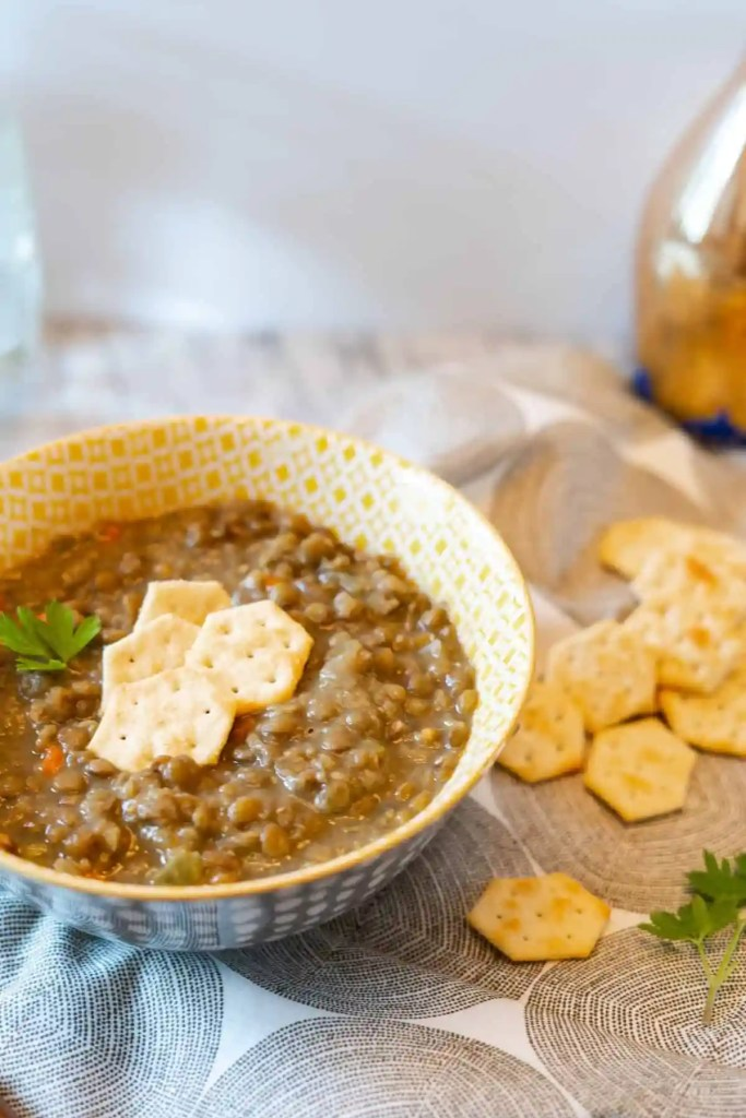 Quick Weeknight Two-Lentil Soup | Sip and Spice